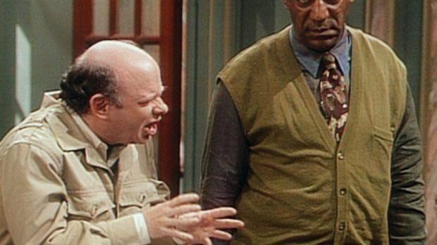 Cliff (Bill Cosby, r.) ist nicht gerade begeistert, dass er nun ausgerechnet...