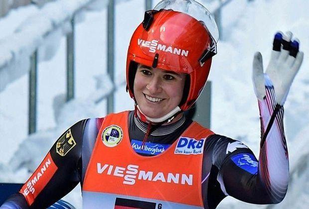 Natalie Geisenberger holt ihren dritten Saisonsieg