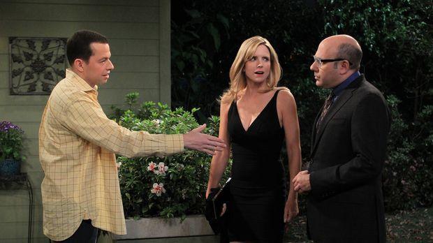 Alan (Jon Cryer, l.) hat Krach mit seiner Freundin Lyndsey (Courtney Thorne-S...