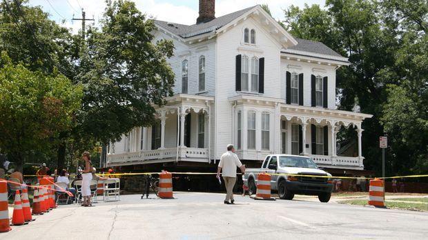 In der Stadt Raleigh, in North Carolina, muss eine alte historische Siedlung...