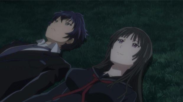Kisara (r.) und Rentaro (l.) sind am Boden zerstört: Etwas Schreckliches ist...