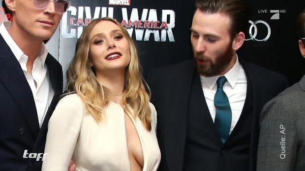 Taff - Taff - Premiere In London: Cpt. America Gegen Iron Man