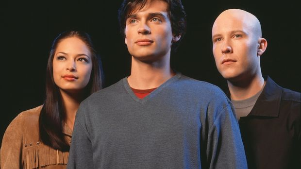 (1. Staffel) - Werden Lana (Kristin Kreuk, l.) und Lex (Michael Rosenbaum, r....