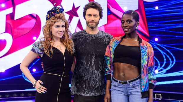 Howard Donald, Palina Rojinski und Nikeata Thompson sind die Jury in Staffel...