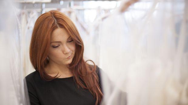 Für Barb ist klar, dass es ein Designer-Hochzeitskleid sein soll und trotzdem...