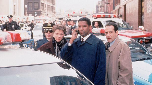 Mit vereinten Kräften müssen Agent Anthony Hubbard (Denzel Washington, vorne...