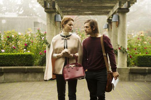 The Magicians - Als Eliza (Esmé Bianco, l.) im Brakebills College ankommt, er...