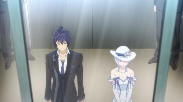 Rentaro (l.) hat einen neuen Job: Er ist Bodyguard von Seitenshi (r.), der Ka...