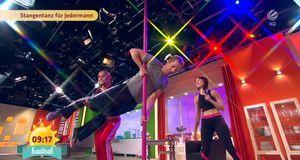 Frühstücksfernsehen - Poledance Für Jedermann!