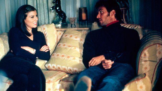 Lydia (Heather Paige Kent, l.) muss sich entscheiden, will sie Jeff (Dan Cort...