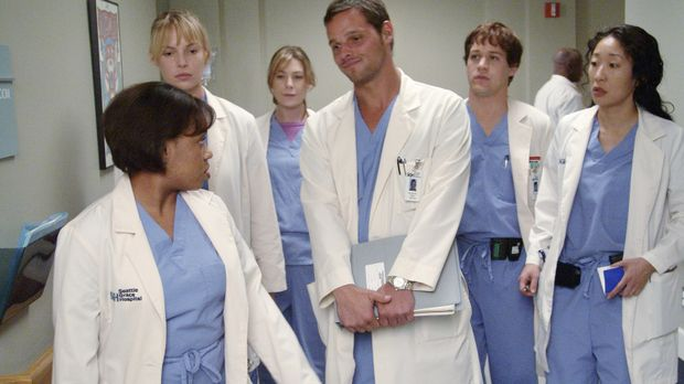 Visite im Seattle Grace Hospital: Dr. Miranda Bailey (Chandra Wilson, l.), Iz...
