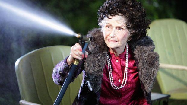 Die Jagd nach Tante Edies (Jeanette Miller) Zeitkapsel treibt Axl und Sue dur...