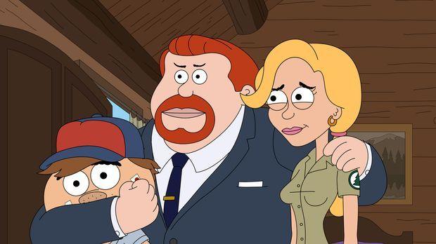 Eine ganz besondere Familie: Ethel (r.), Connie (M.) und Malloy (l.) ... © 20...