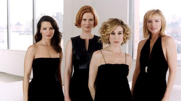 (5. Staffel) - Vier Frauen aus Manhattan, die wissen, was sie wollen: (v.l.n....