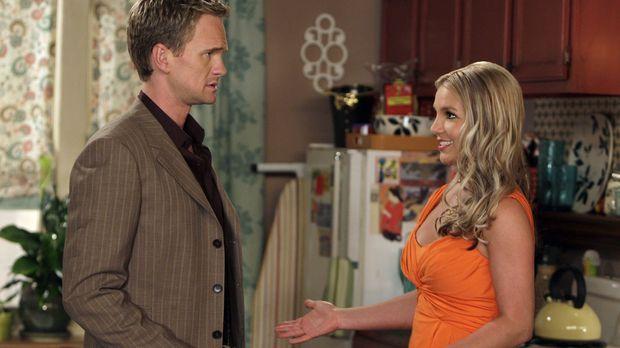 Barney (Neil Patrick Harris, l.) hat die Frau erwischt, die ihm in letzter Ze...