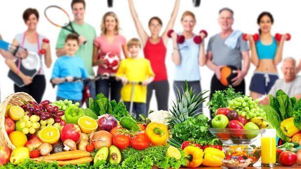 Sport, Abnehmen und vegetarische Ernährung – das passt gut zusammen.