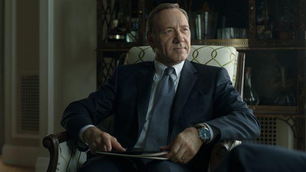 Kann Frank (Kevin Spacey) wirklich alle seine Ziele erreichen? © 2014 MRC II...