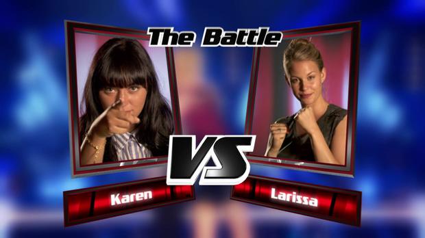 Karen vs. Larissa