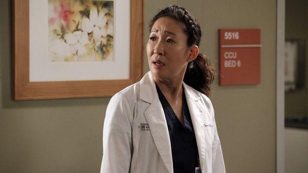 Während Cristina (Sandra Oh) und Owen versuchen einen Weg zu finden um mit ih...