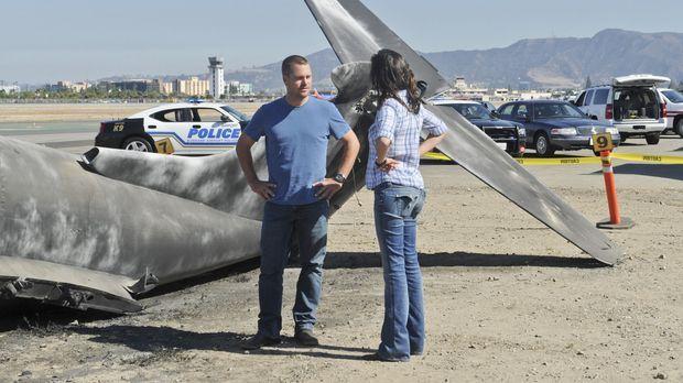 Müssen einen neuen Fall aufklären: Callen (Chris O'Donnell, l.) und Kensi (Da...