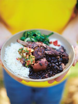 Jamies Wohlfühlküche: Brasilianische Feijoada Rezeptbild