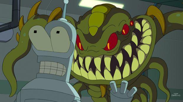 Die Planet-Express-Crew ist mal wieder heillos zerstritten. Um die Firmenharm...