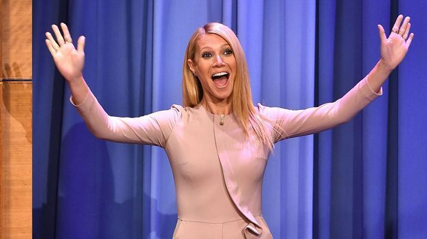 Gwyneth Paltrow bei Jimmy Fallon