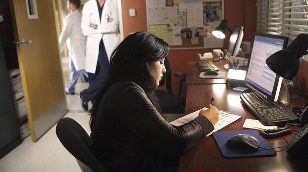 Da Mark (Eric Dane, l.) nicht möchte, dass Callie (Sara Ramirez, r.) nach Afr...