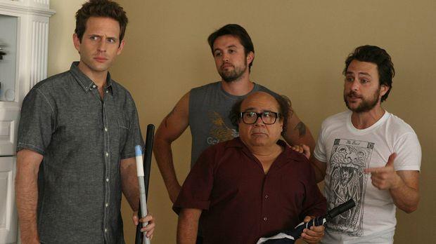 Nachdem Frank (Danny DeVito, vorne) ein Haus ersteigert hat, wollen er, Charl...