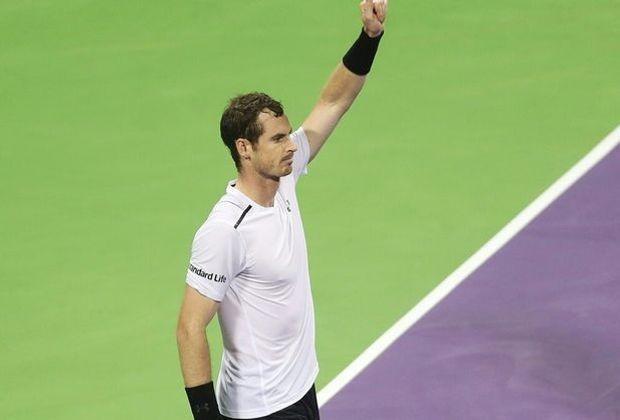Murray feierte seinen 27. Sieg in Serie