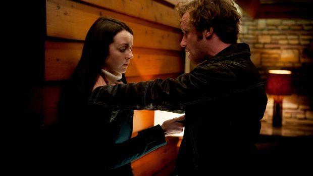 Hannibal - Wird Nicholas Boyle (Mark Rendall, r.) den Angriff von Abigail (Ka...