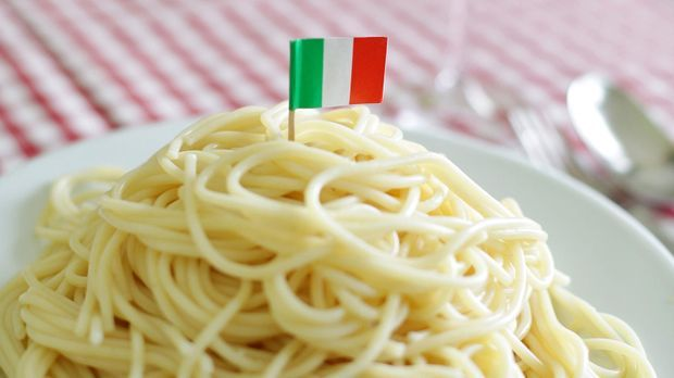 Italienisches Nudelgericht