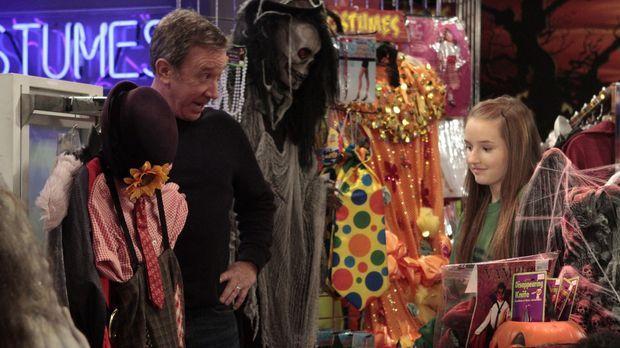 Mikes (Tim Allen, l.) Tochter Eve (Kaitlyn Dever, r.) findet, dass sie zu alt...