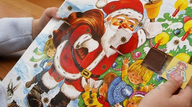 Adventskalender dpa © Verwendung weltweit, usage worldwide