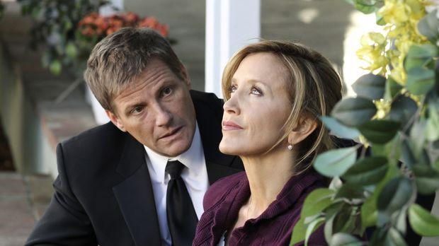 Die Hochzeit von Irina und Preston steht vor der Tür. Lynette (Felicity Huffm...