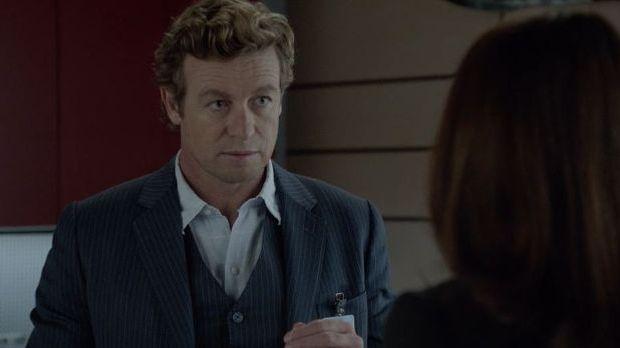 Schauspieler Simon Baker als Patrick Jane in der Serie The Mentalist