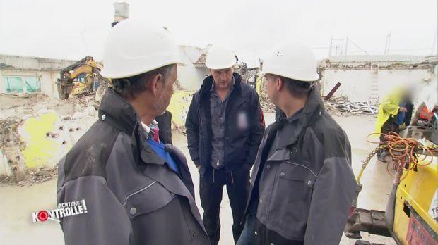 Achtung Kontrolle - Dienstag: Sicherheit Auf Dem Bau?