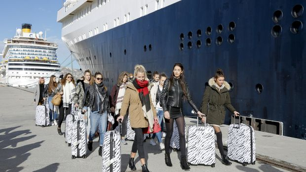 Germany's Next Topmodel - Germany's Next Topmodel - Staffel 12 Episode 2: Die Topmodel-cruise Beginnt!
