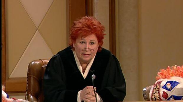 Richterin Barbara Salesch - Richterin Barbara Salesch - Die Fratze